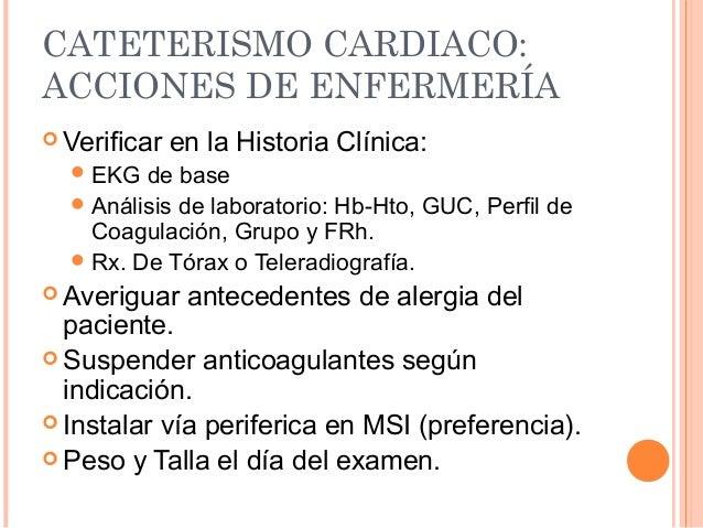 Baño General Del Paciente En Regadera:Cateterismo cardiaco
