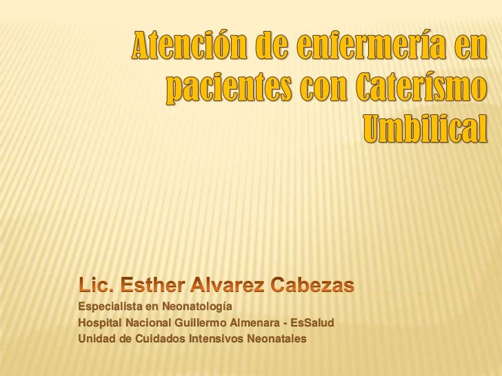 Cateterismo umbilical