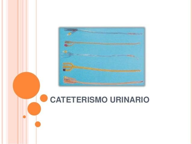 Cateterismo urinario