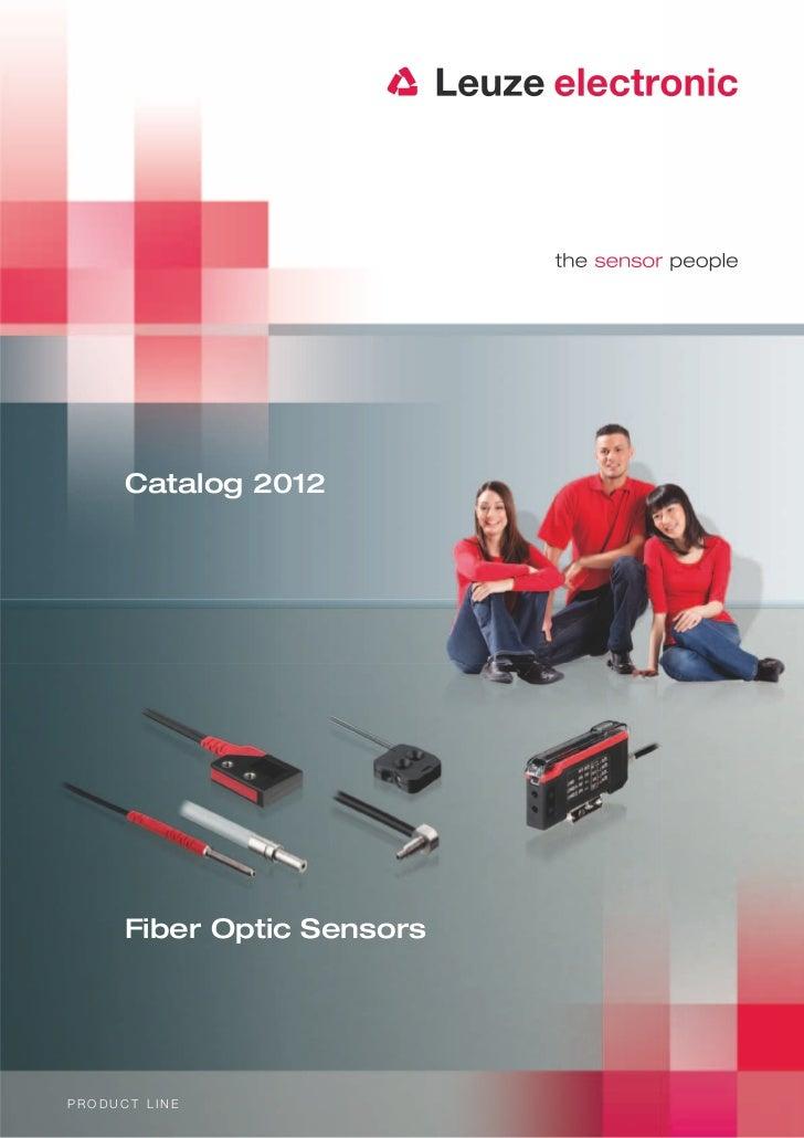 Catalog 2012      Fiber Optic SensorsPRODUCT LINE