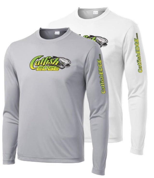 Catfish edge custom fishing shirts for Two fish apparel