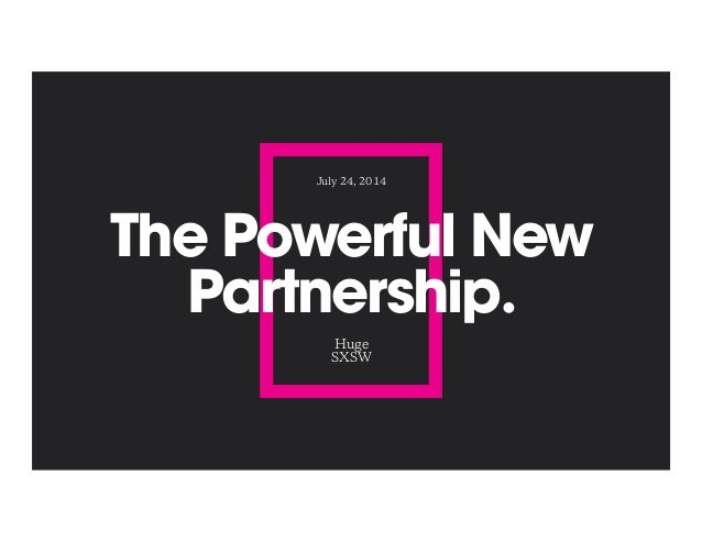The New Creative Partners: Brand Planning Meets UX