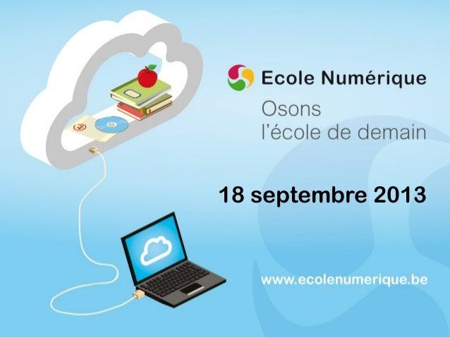 Présentation ecolenumerique.be