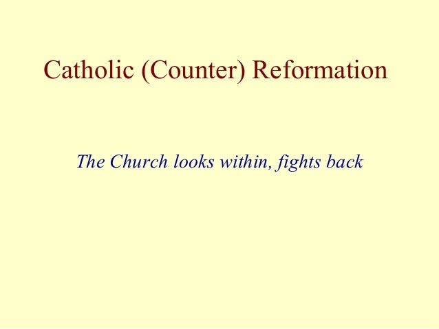 counter reformation essays on education