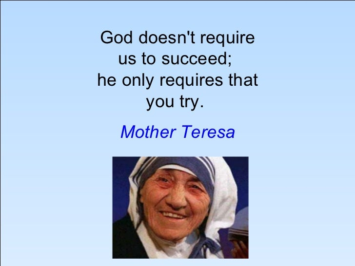 how to write an essay on mother teresa Mother bonding with child july 24  mother teresa: a mother to many need to write a descriptive essay about my mother.