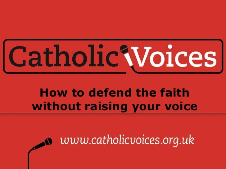 Catholic voices
