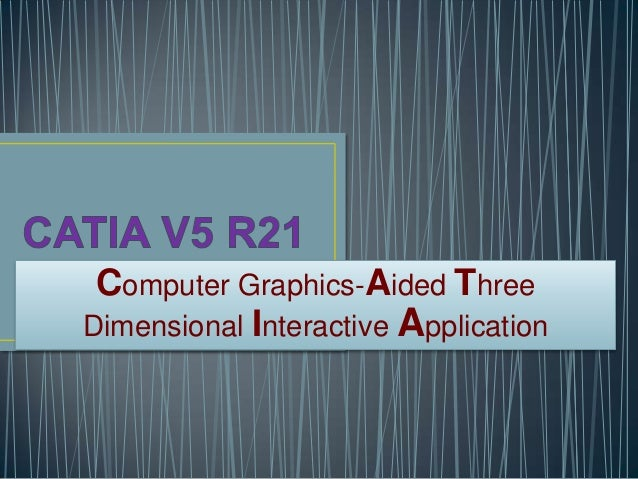 Computer Graphics-Aided Three Dimensional Interactive Application