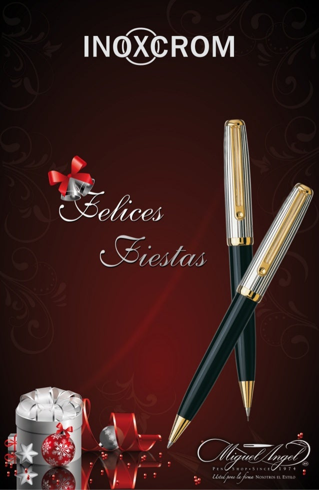 Catálogo Plumas Inoxcrom 2012