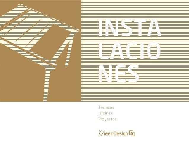 Jardineras para terrazas. Nueva colección de pérgolas e instalacciones de Greendesign