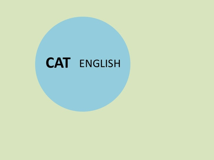 CAT English
