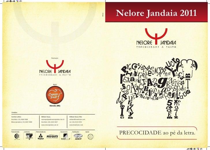 Catálogo Leilão Nelore Jandaia 2011