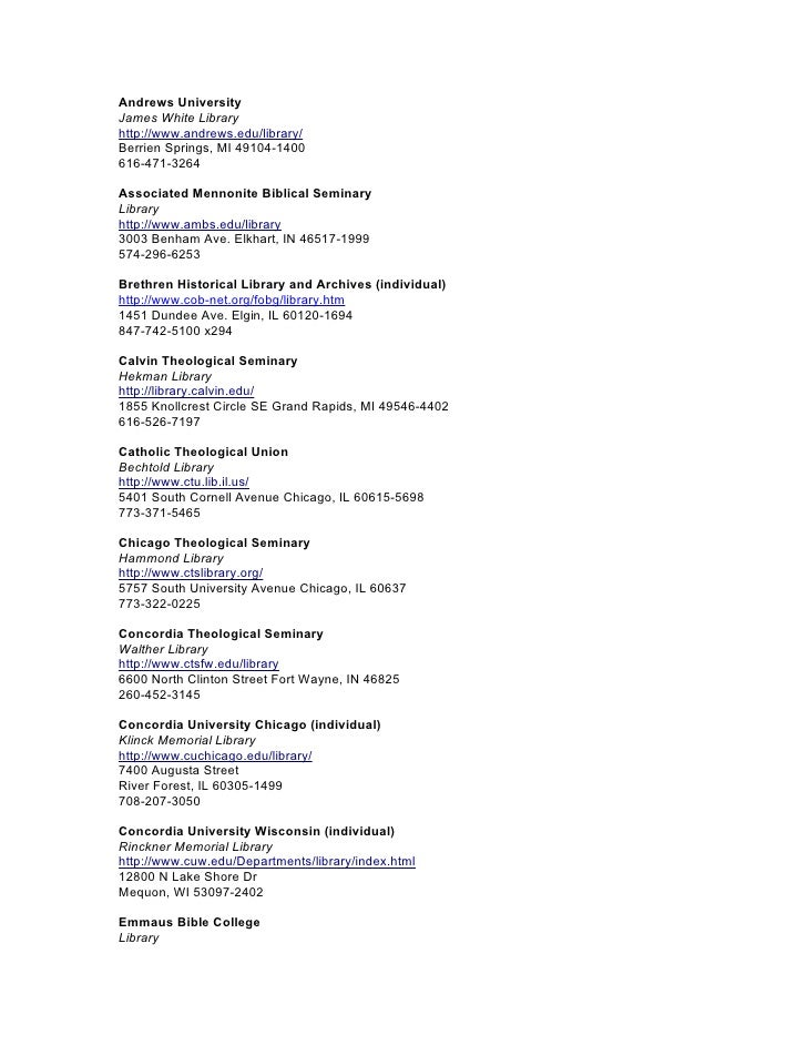 Catla institutional directory