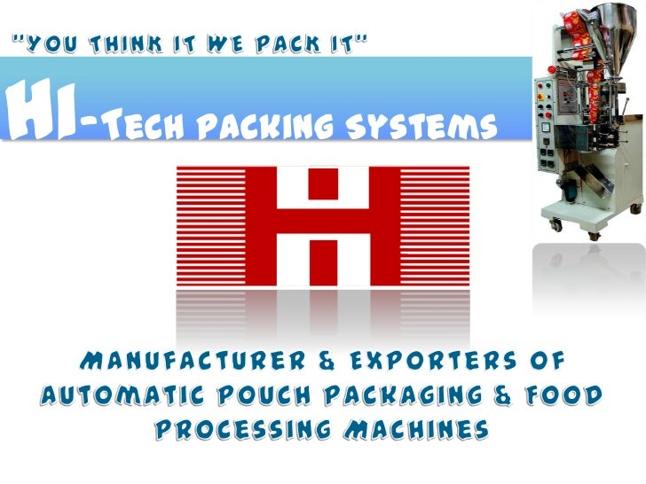 Hi-Tech Packing Systems