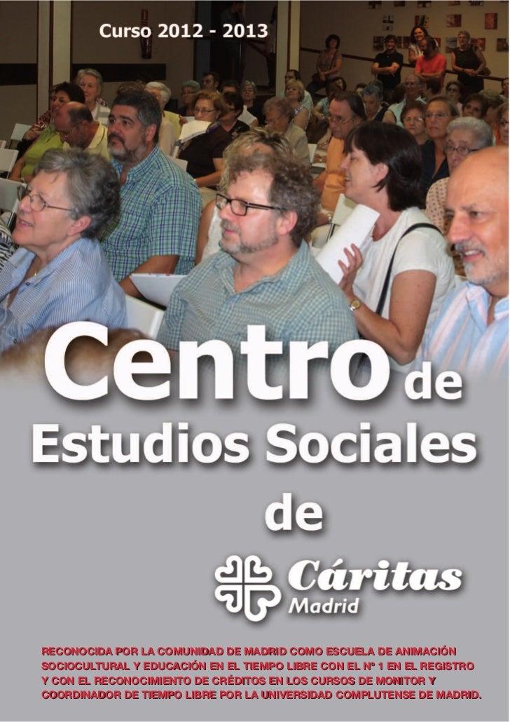 C talogo del cursos del centro de estudios sociales de for Curso de escaparatismo madrid