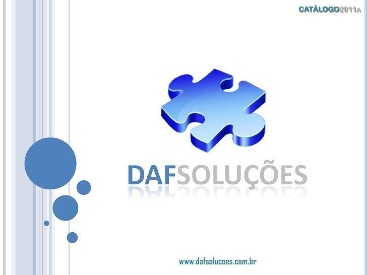 DAF Soluções - Catálogo