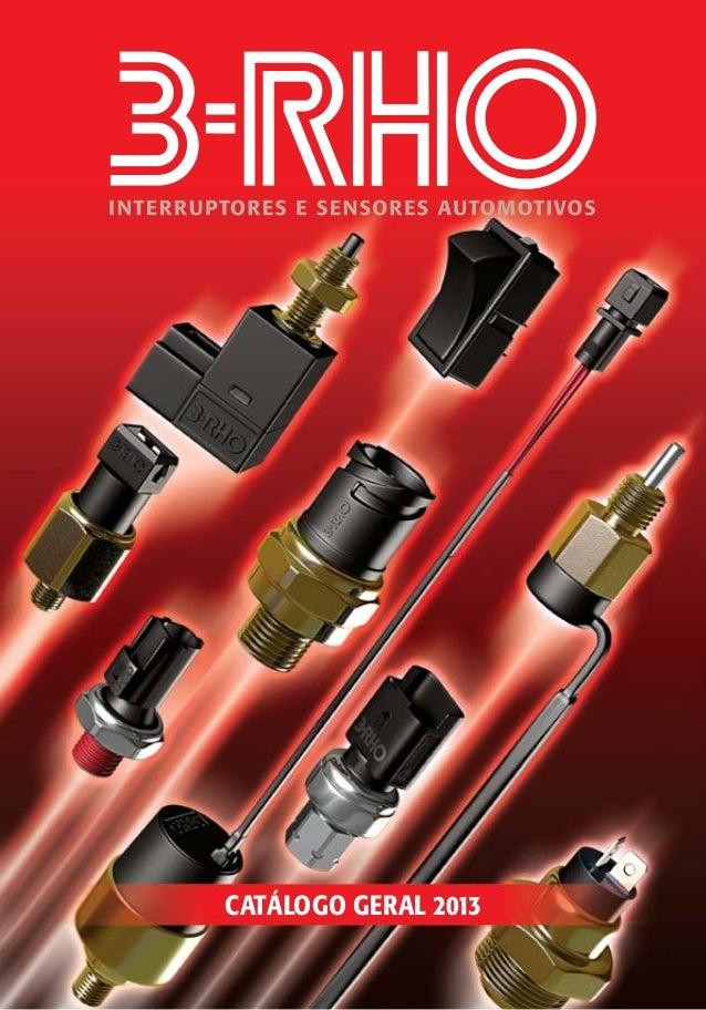 Catálogo 3RHO 2013