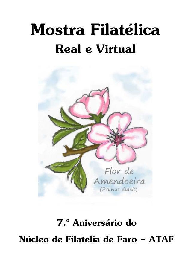 Catálogo Mostra Filatélica Real e Virtual