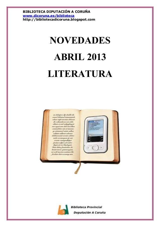 Catálogo Literatura Abril