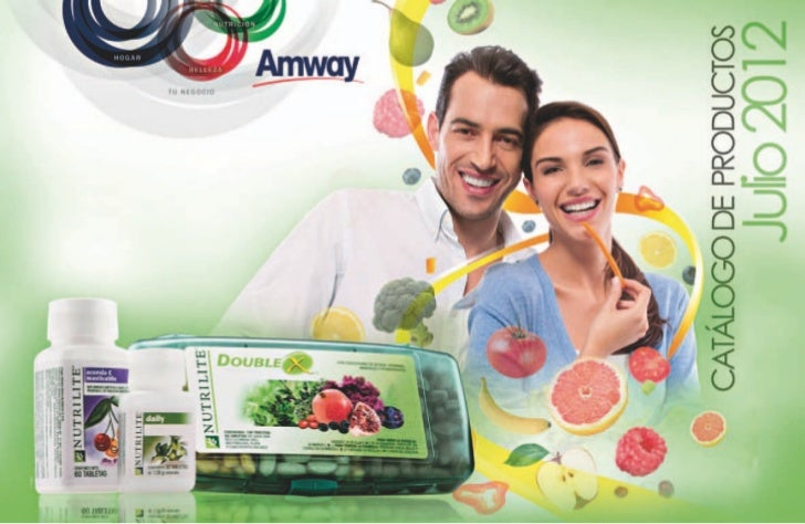 Catálogo amway julio 2012