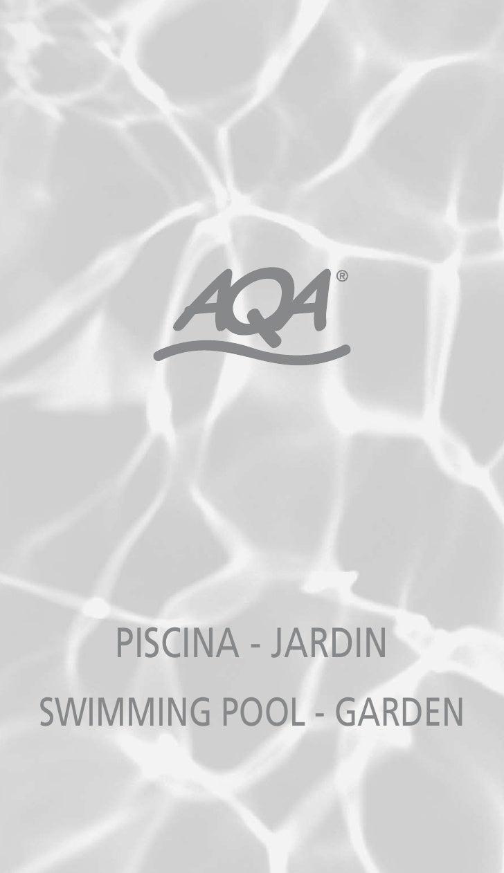 PISCINA - JARDIN SWIMMING POOL - GARDEN