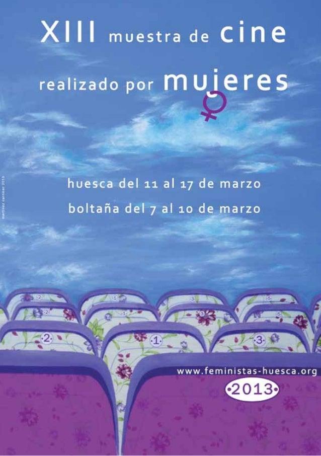 Catálogo cine mujeres huesca 2013