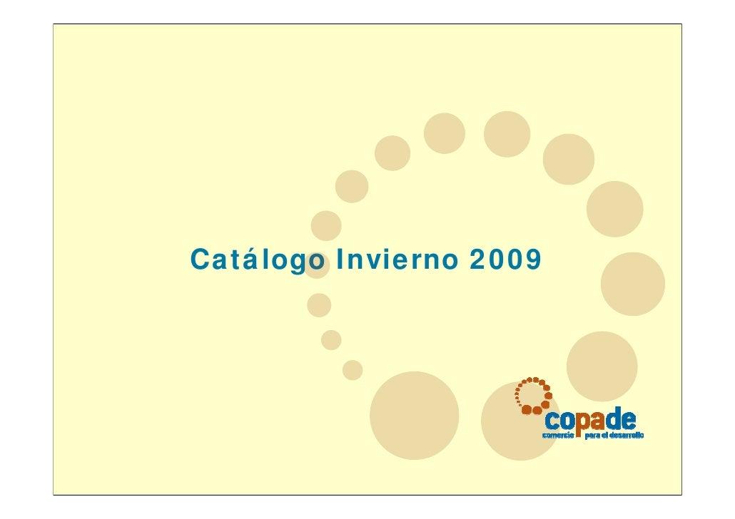 Catálogo Invierno 2009
