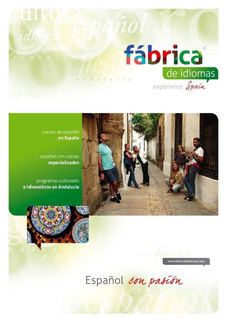 Catálogo cursos de_español_España_Fabrica_de_Idiomas