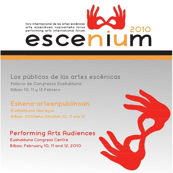 Programa Escenium 2010