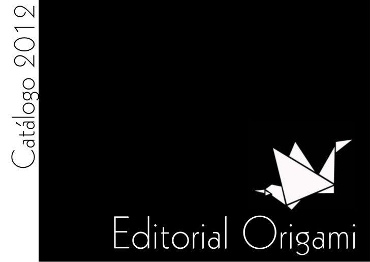 Catálogo de origami