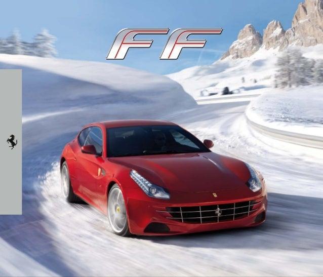 Catálogo Ferrari FF