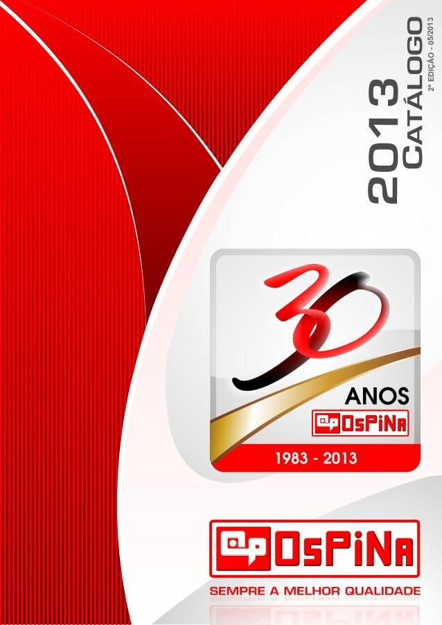 Catálogo Ospina 2013