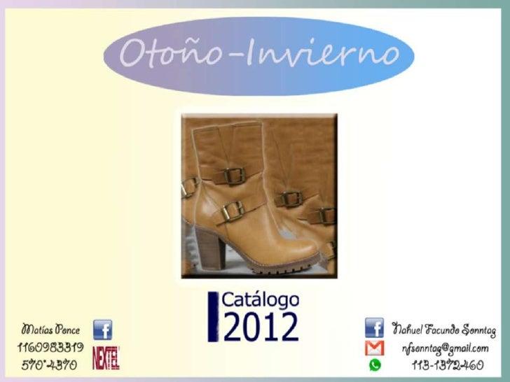 Catálogo otoño invierno 2012