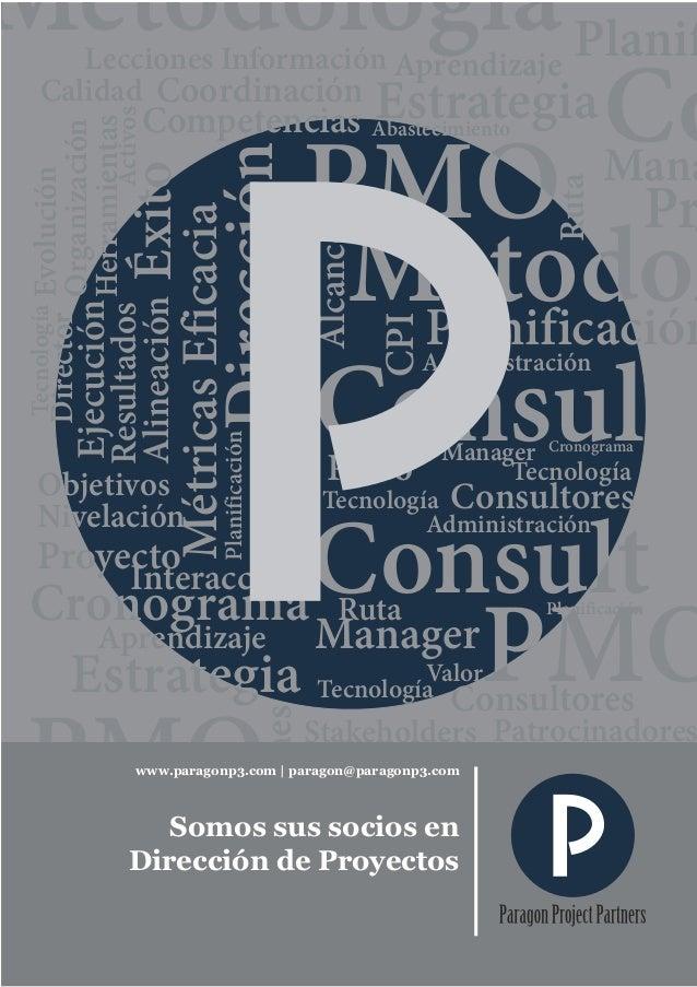 Catálogo de Servicios de Consultoría y Capacitación