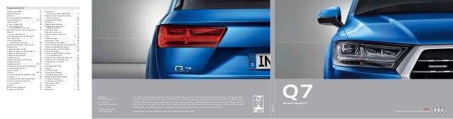 AudiAudi AUDI AG 85045 Ingolstadt www.audi.es Válido desde mayo 2015 Impreso en Alemania 533/1133.29.61 Los modelos y equi...