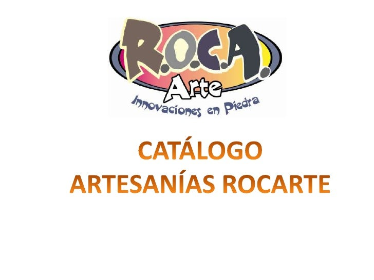 Catálogo rocarte