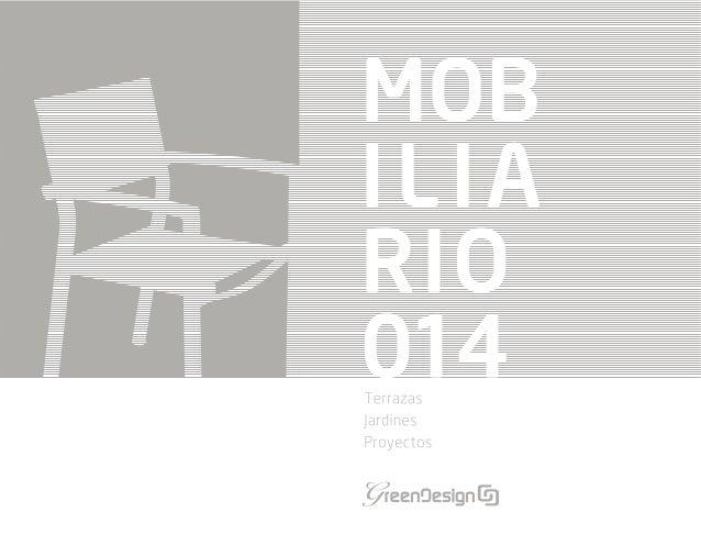 Muebles de jard n nueva colecci n de mobiliario de jard n 2014 de gr - Mobiliario para jardin ...