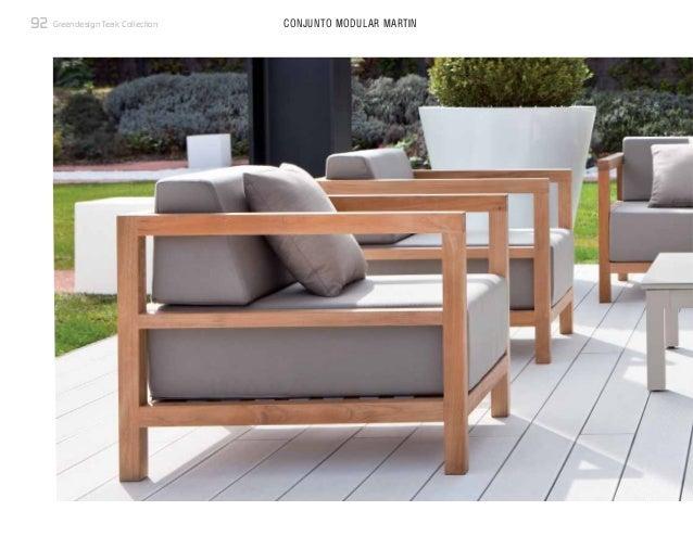 Muebles de teca para terrazas de la nueva colecci n - Muebles de teca ...