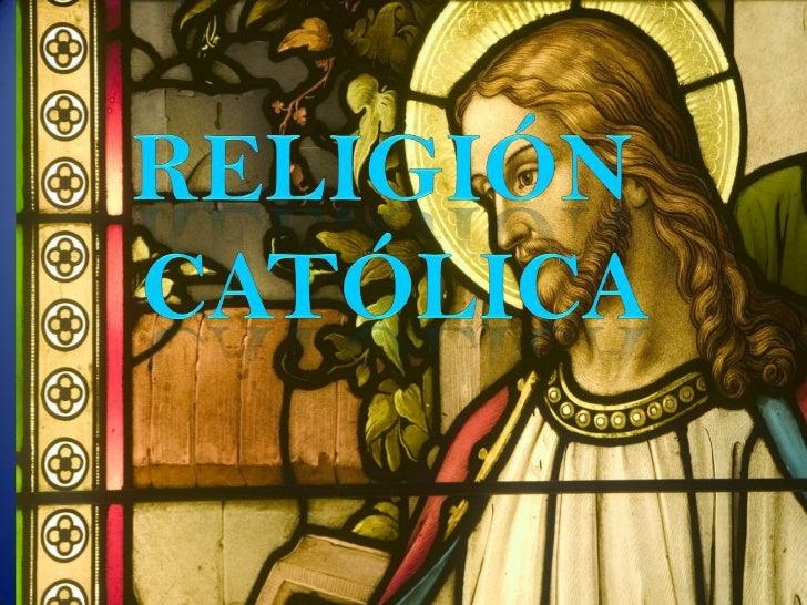 """El catolicismo es un término general que sirvepara describir la """"Iglesia Universal deJesucristo"""", suteología, doctrina, li..."""