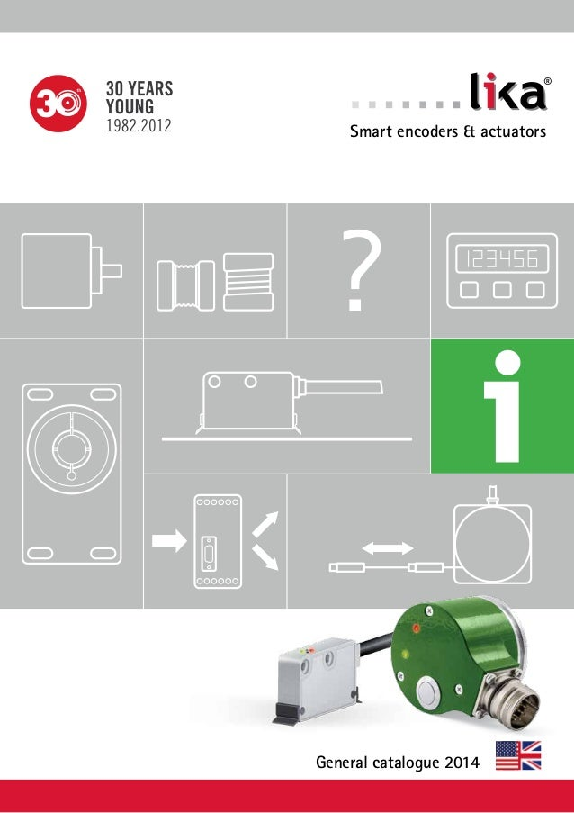 Lika Electronic's general catalog in English 0414 edition