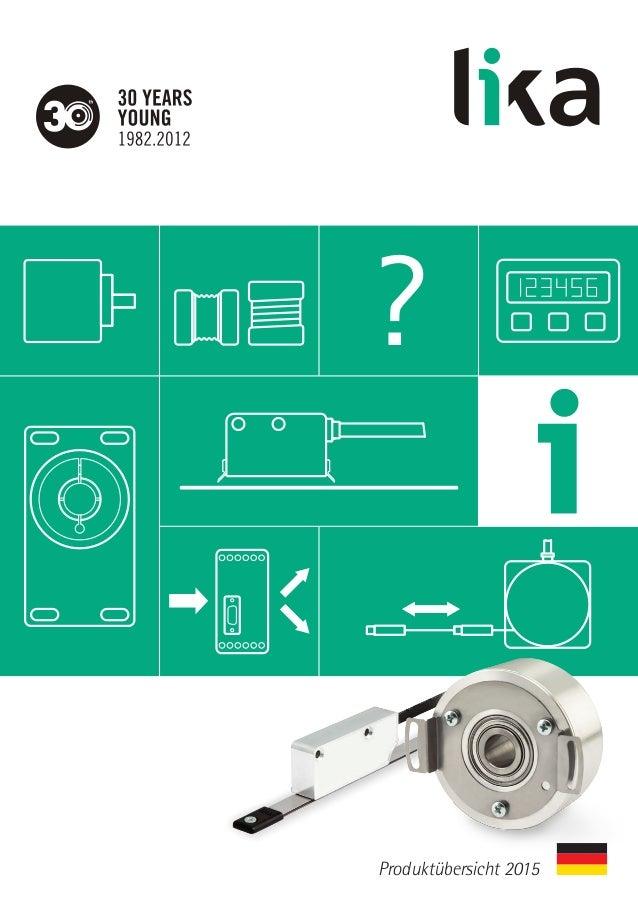 ? Produktübersicht 2015