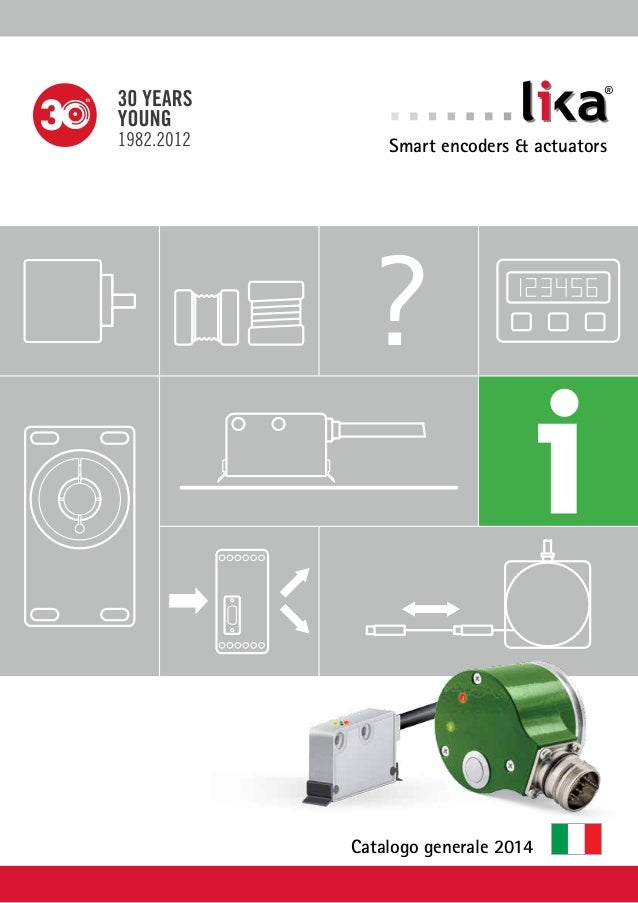 ?  ®  Smart encoders & actuators  Catalogo generale 2014