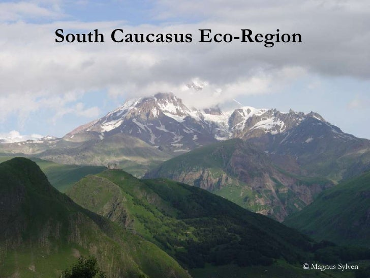 South Caucasus Eco-Region<br />© Magnus Sylven<br />