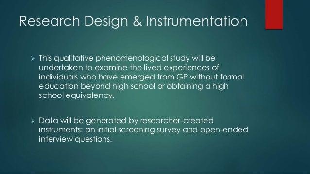 Design dissertation proposal