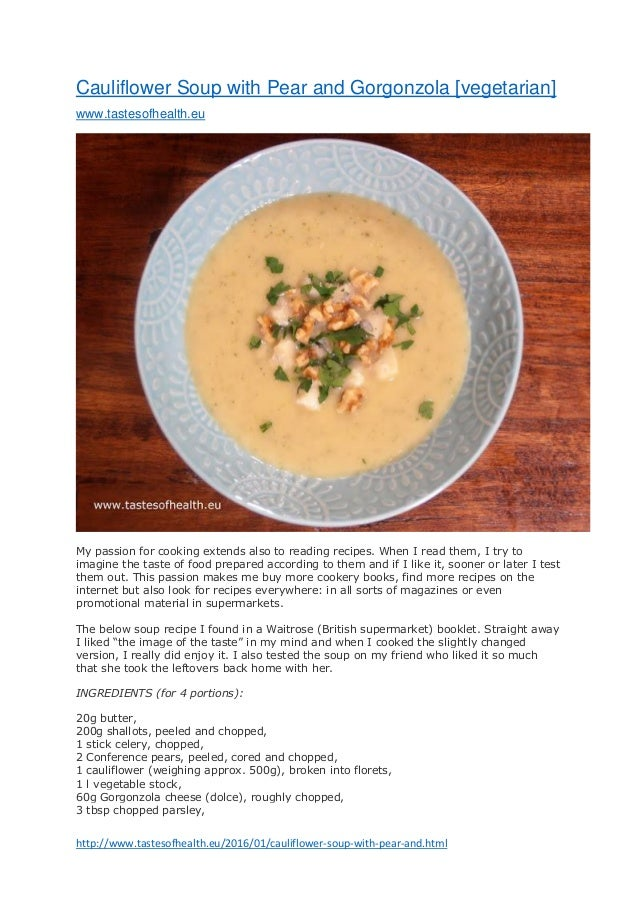 ... cauliflower-soup-with-pear-and.htmlCauliflower Soup with Pear and