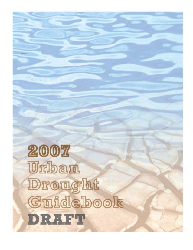 Georgia Urban Drought Guidebook