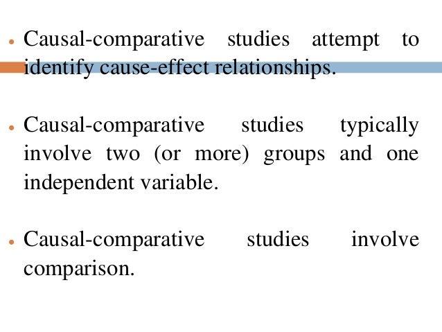 Comparative studies!!?