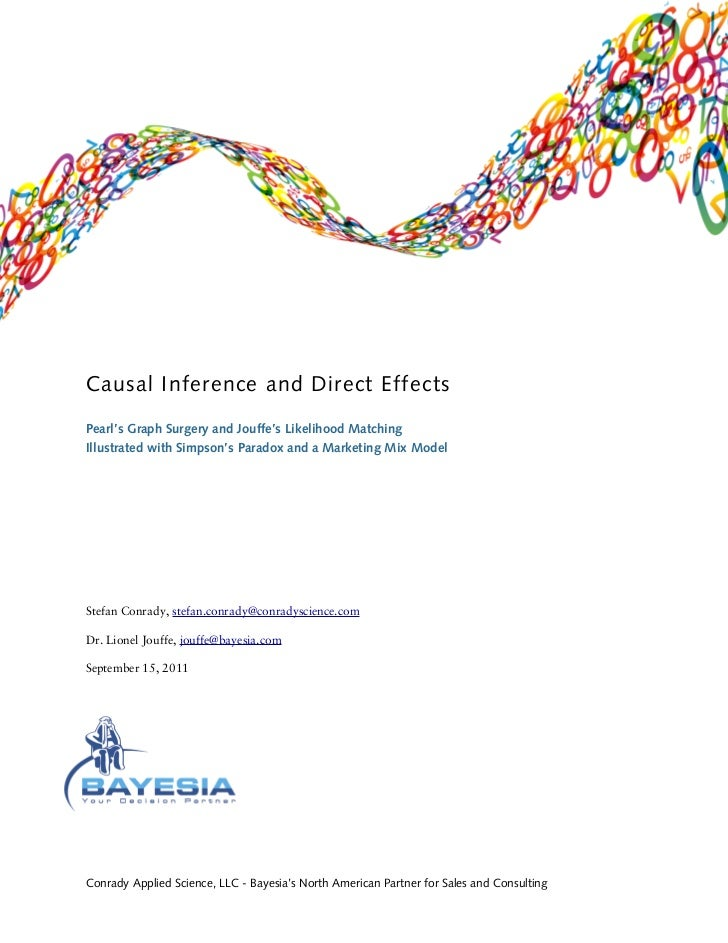 Causal Inference and Direct Effects