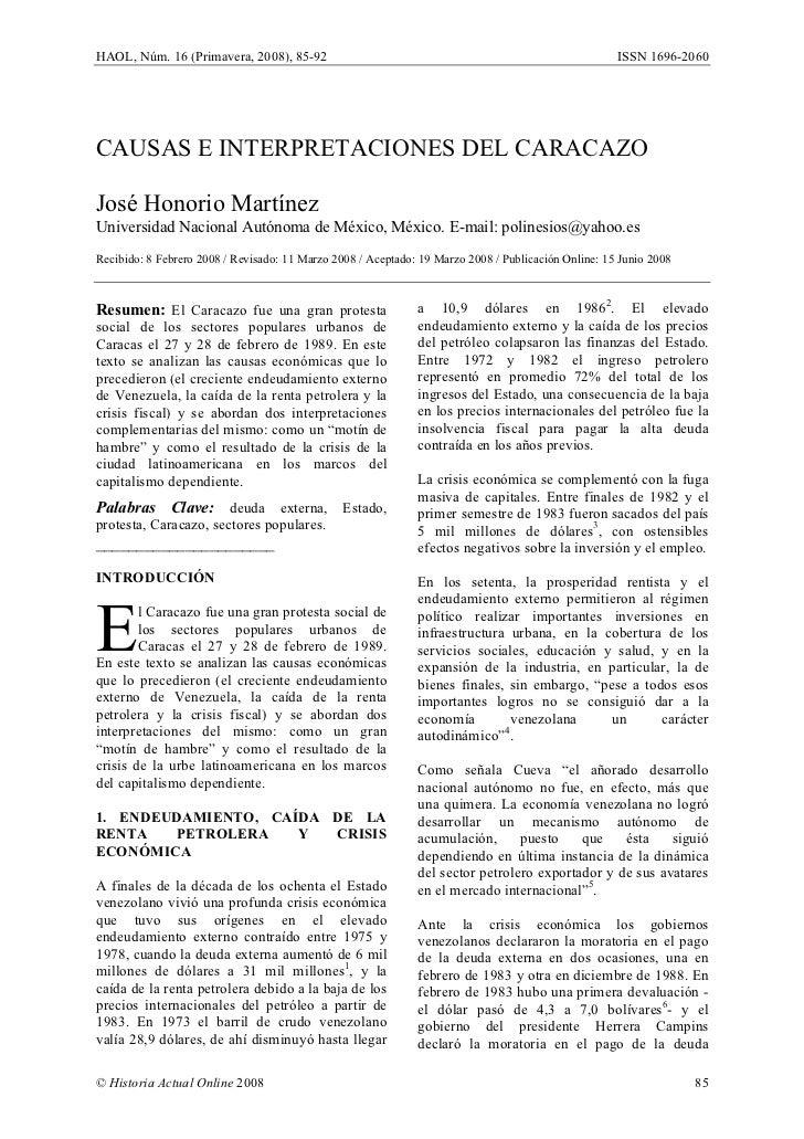 HAOL, Núm. 16 (Primavera, 2008), 85-92                                                               ISSN 1696-2060     CA...