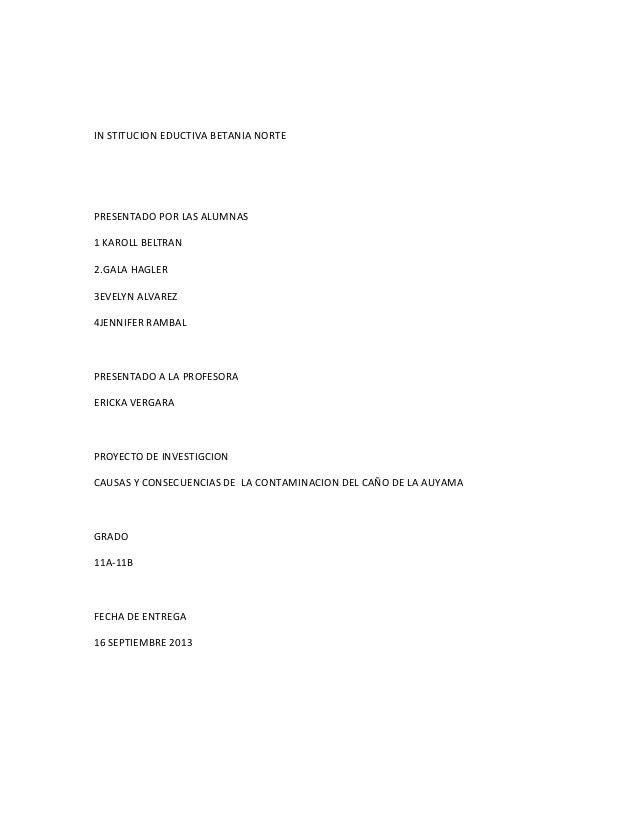 IN STITUCION EDUCTIVA BETANIA NORTE PRESENTADO POR LAS ALUMNAS 1 KAROLL BELTRAN 2.GALA HAGLER 3EVELYN ALVAREZ 4JENNIFER RA...