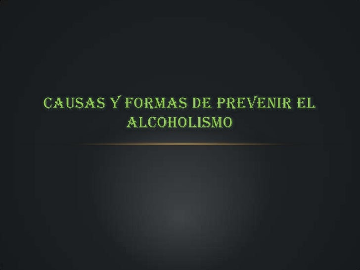 Después de la psicosis alcohólica